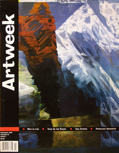 artweek cover